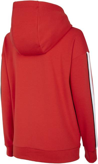Bluza damska 4F BLD017 na zamek czerwona