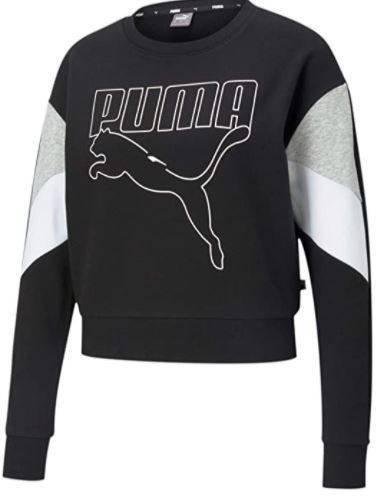 Bluza damska Puma 585750 01 czarna luźna