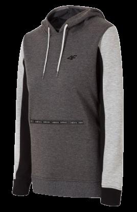Bluza damska z kapturem 4F BLD006 szara