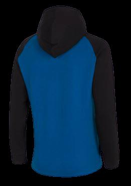 Bluza męska OUTHORN BLM611 niebieska z kapturem