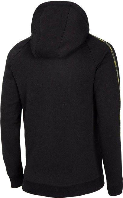 Bluza męska na zamek 4F BLM015 czarna