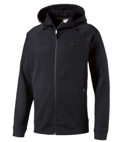 Bluza uniwersalna na zamek PUMA 83650601 czarna XS