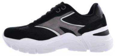 Buty damskie BIG STAR HH274336 czarne sneakersy