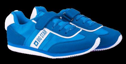 Buty dziecięce adidasy BIG STAR FF3741 niebieskie