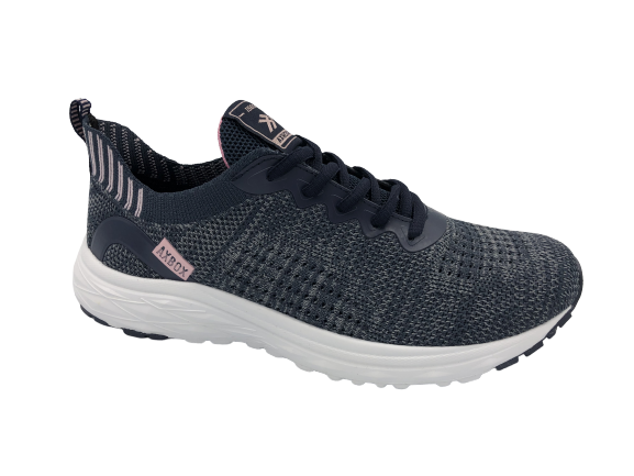 Buty sportowe damskie obuwie B0153-2 granatowe