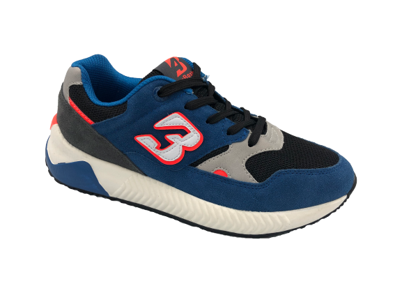 Buty sportowe młodzieżowe B0058-2 niebieskie
