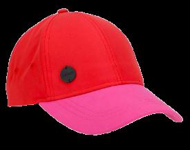 Czapka damska OUTHORN CAD600 czerwono różowa