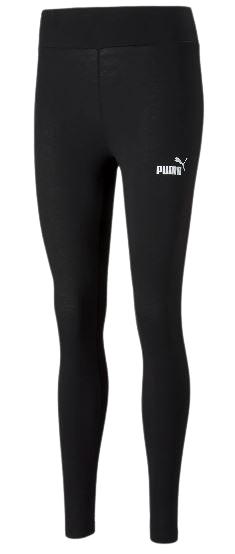 Damskie legginsy PUMA 586835 01 czarne bawełna