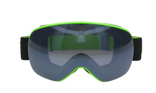 Gogle narciarskie 4F GGM060 zielone one size