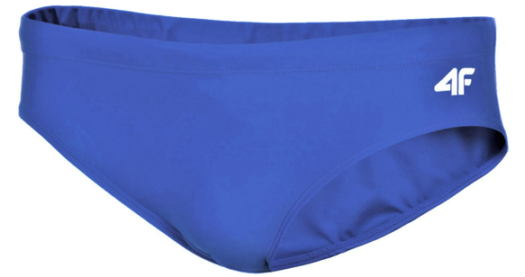 Kąpielówki męskie slipki 4F MAJM001 niebieski