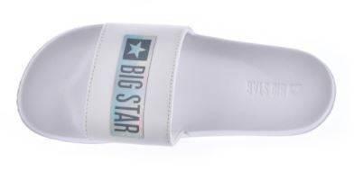 Klapki damskie BIG STAR HH274A035 białe