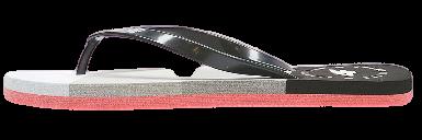 Klapki damskie japonki 4F KLD004 czarno szare