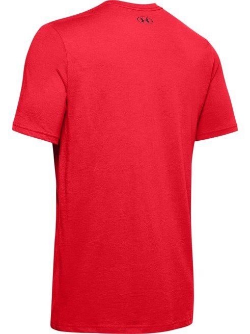 Koszulka z krótkim rękawem UNDER ARMOUR CZERWONA