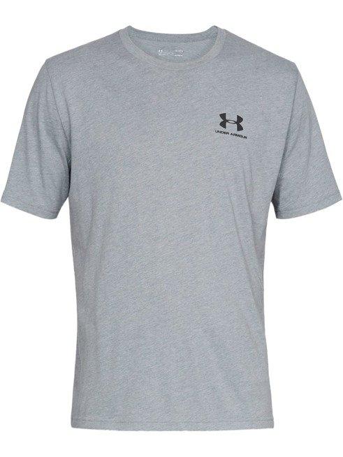 Koszulka z krótkim rękawem UNDER ARMOUR SZARA