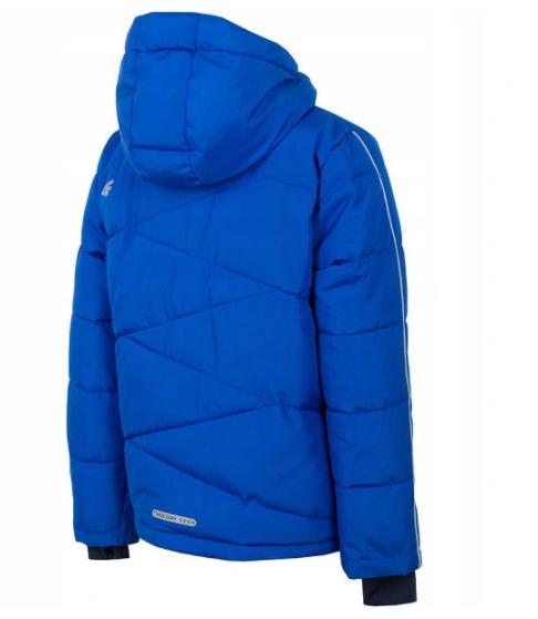Kurtka narciarska chłopięca JKUMN002B niebieska