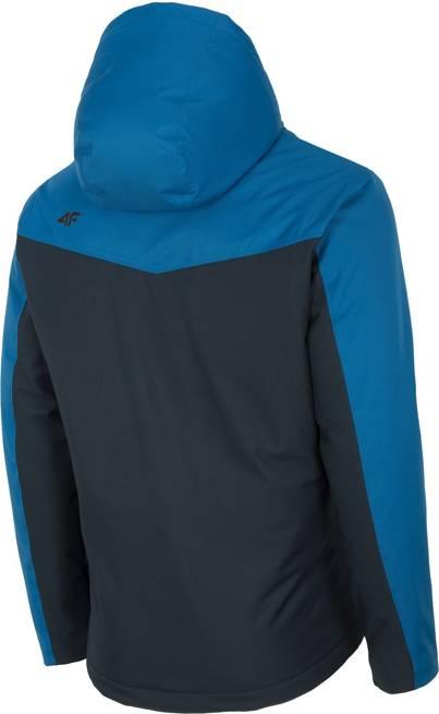 Kurtka narciarska męska 4F KUMN002 niebieska