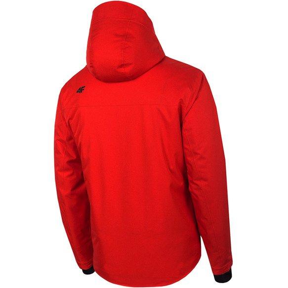 Kurtka narciarska męska 4F KUMN007 czerwona