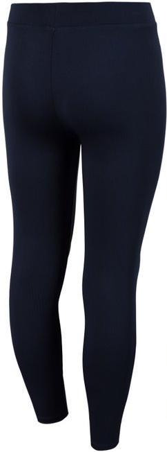Legginsy dziewczęce spodnie 4F JLEG004 granat