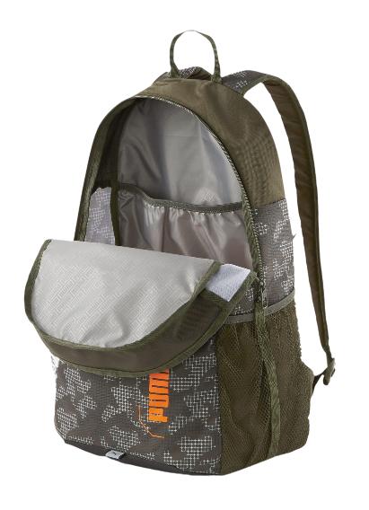 Plecak szkolny PUMA sportowy 076703 07 zielony