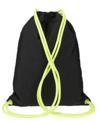 Plecak worek  dla dzieci 4F JBAGM002 czarny wzór
