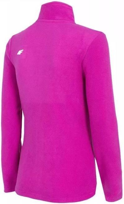 Polar damski 4F PLD001 bluza różowa na zamek XS