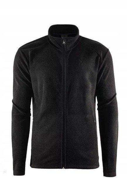 Polar męski OUTHORN PLM600 ciepła bluza czarna