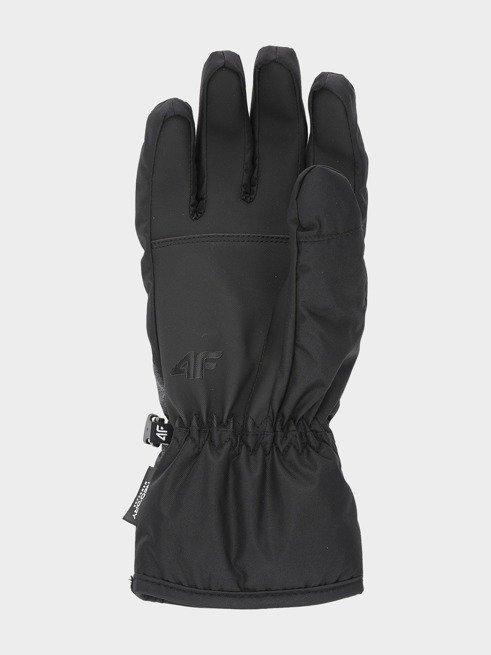 Rękawice narciarskie męskie 4F szaro-czarne M