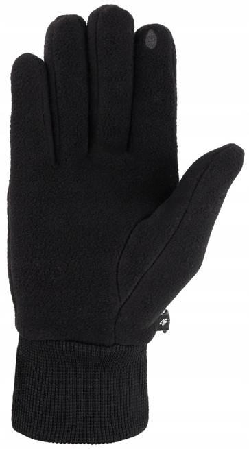 Rękawiczki uniwersalne 4F REU072 czarne zimowe