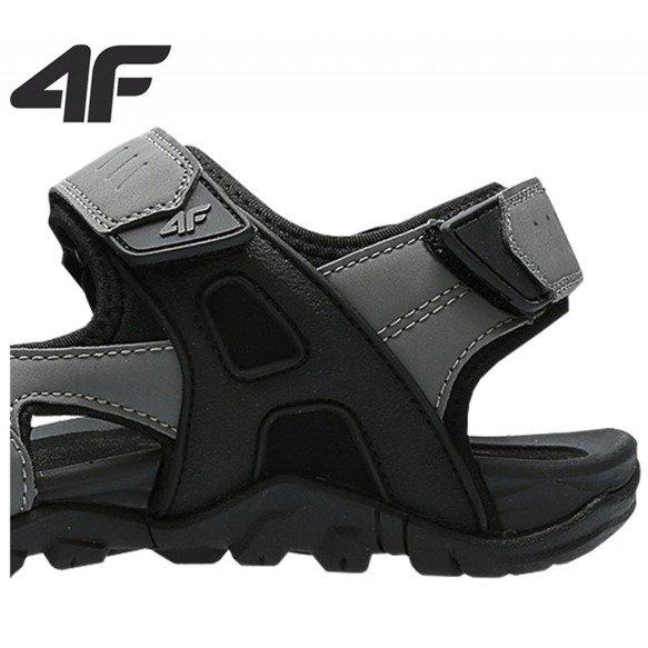 Sandały męskie sportowe 4F SAM002 szare