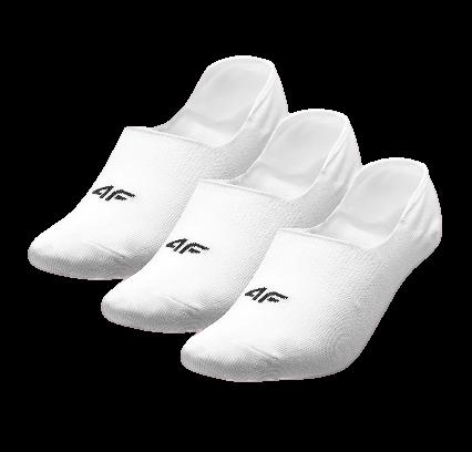 Skarpety damskie stopki 4F SOD001 białe