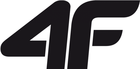 Spodenki dziecięce sportowe 4F JSKMTR001 czarne