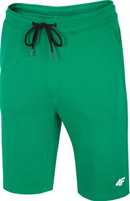 Spodenki męskie dresowe 4F SKMD001 zielone
