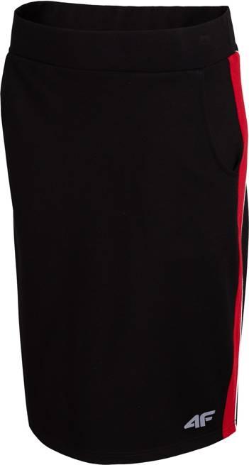 Spódnica damska 4F SPUD010 dresowa czarna