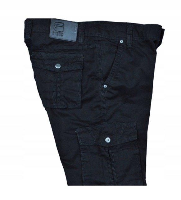 Spodnie bojówki myśliwskie czarne 8813 1
