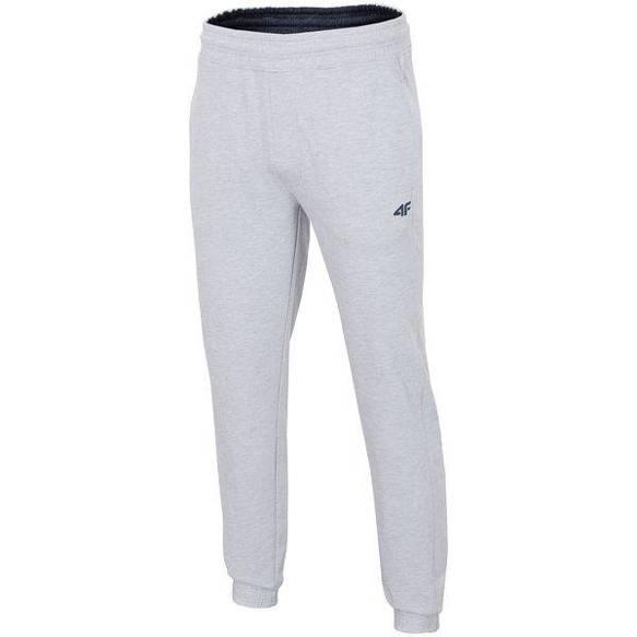 Spodnie dresowe męskie 4F SPMD001 jasny szary
