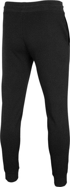 Spodnie męskie 4F SPMD001 czarne dresowe