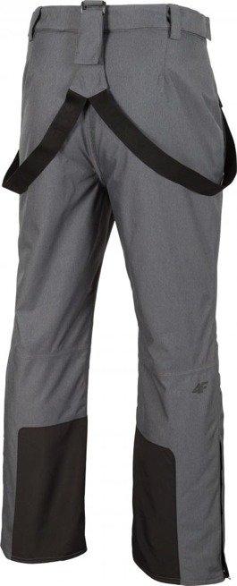 Spodnie narciarskie męskie 4F szare XL