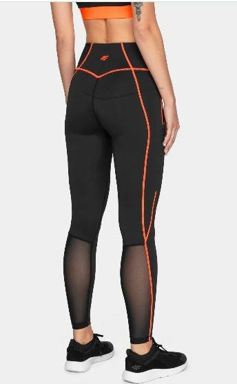 Spodnie sportowe damskie 4F SPDF012 fitnessowe