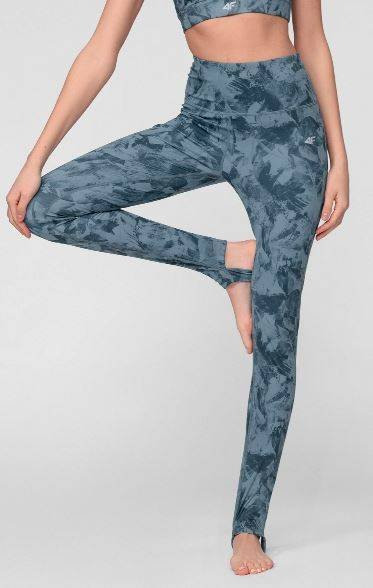Spodnie sportowe damskie 4F SPDF018 fitnessowe