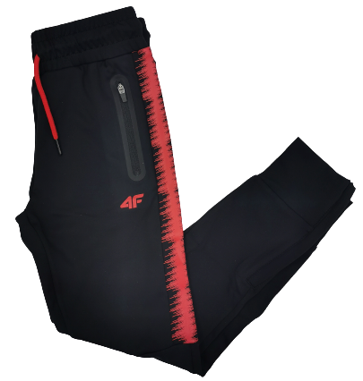 Spodnie treningowe 4F JSPMTR001 sportowe