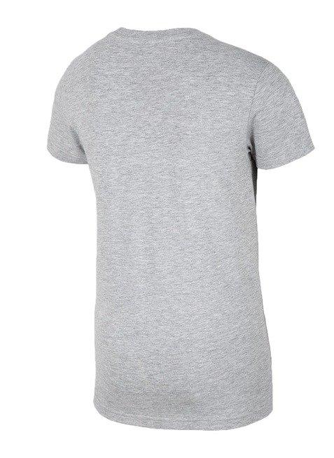 T-shirt chłopięcy 4F JTS023B SZARY