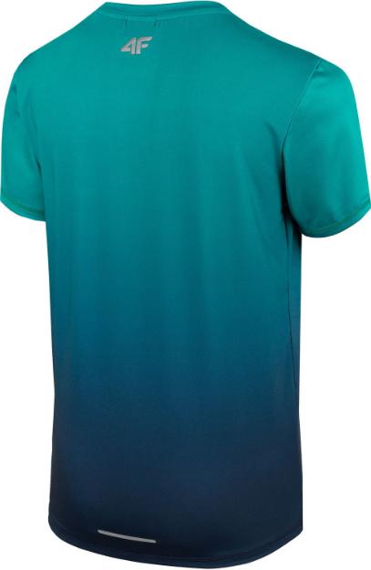 T-shirt chłopięcy sportowy 4F JTSM008A zielony