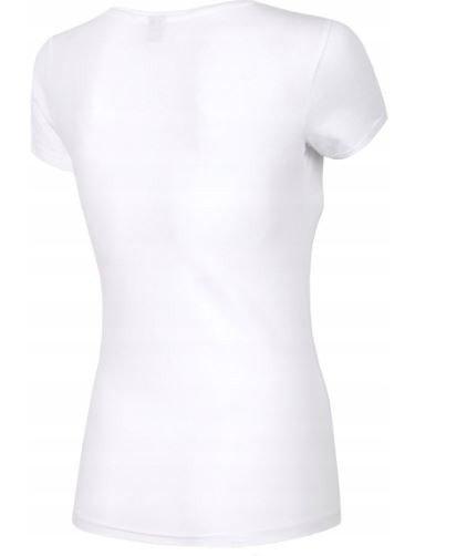 T-shirt damski 4F TSD001 BIAŁY bawełna