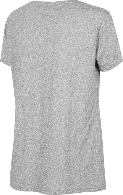 T-shirt damski 4F TSD002 SZARY