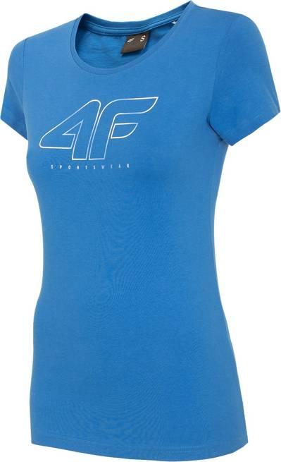 T-shirt damski 4F TSD022 NIEBIESKI