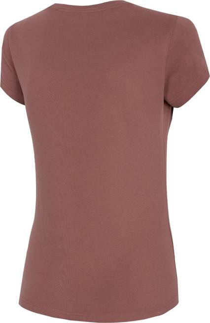 T-shirt damski 4F TSD034 bawełniany fiolet