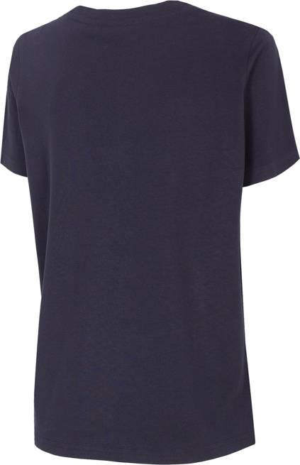 T-shirt damski 4F oversize TSD023 granatowa