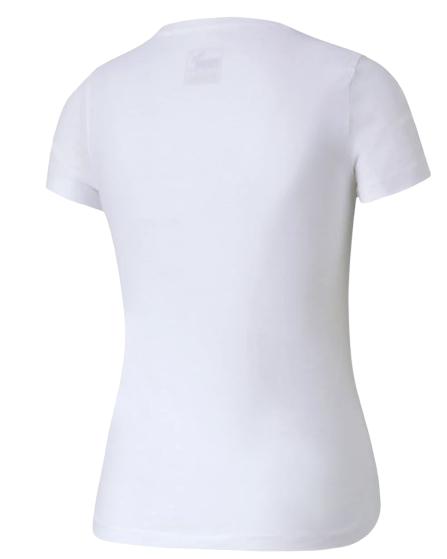 T-shirt dziewczęcy PUMA koszulka 582556 BIAŁA