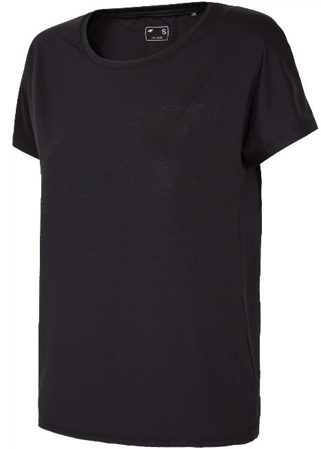 T-shirt fitness damski 4F TSDF005 czarna