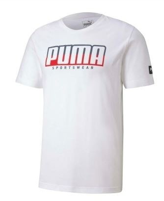 T-shirt koszulka męska PUMA 581333 02 biała